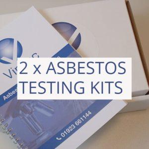 2 DIY asbestos testing kits